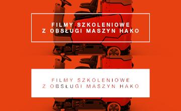 Filmy szkoleniowe z obsługi maszyn Hako