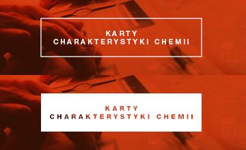 Karty charakterystyk chemii