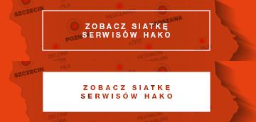 Zobacz siatkę serwisów Hako